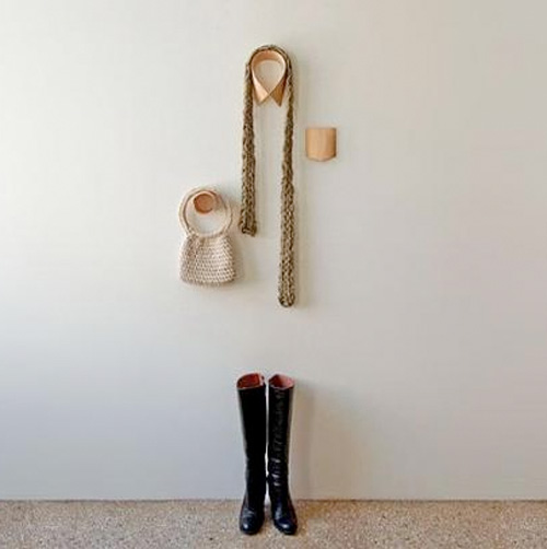 Monsieur Dressup coat hangers, designer Anna Thomas