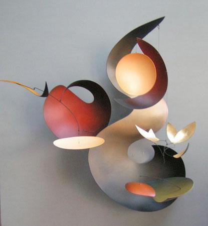 metal sculpture by mark davis