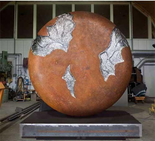 steel sculpture, Jonathan Prince
