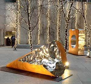 steel sculpture, J. Prince