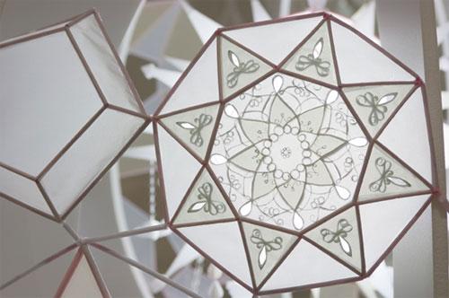 paper sculpture, Kirsten Hassenfeld