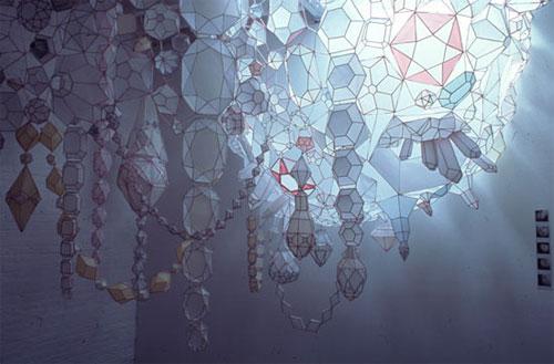 paper sculpture, Kristen Hassenfeld