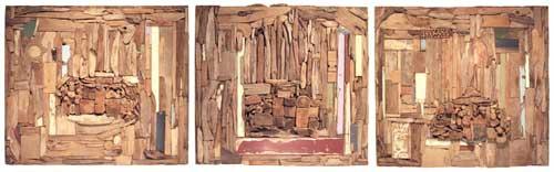 driftwood assemblage, Dahlsen