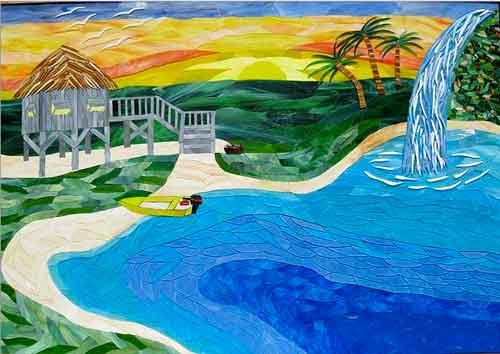 mosaic, Charles McDonell
