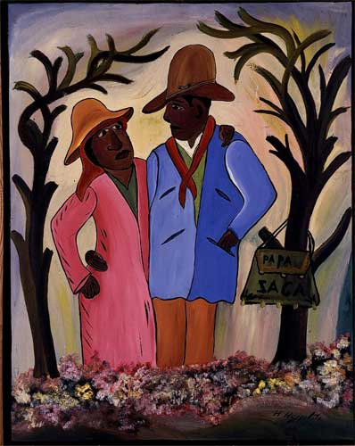painting by Hector Hyppolite