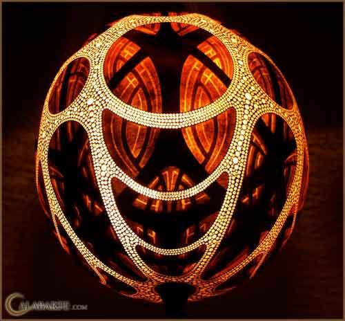 gourd lamp 1, Calabarte