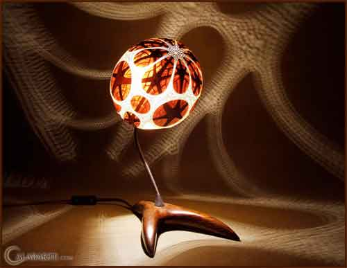 gourd lamp 2, Calabarte