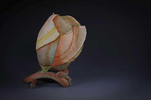 Clay vase, Jayme Curley