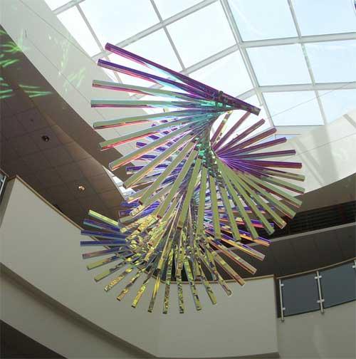 Alyson Shotz sculpture
