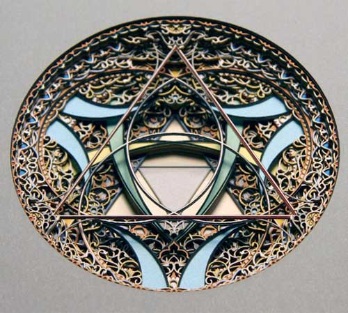 Circle 3.1.1, Eric Standley stained glass