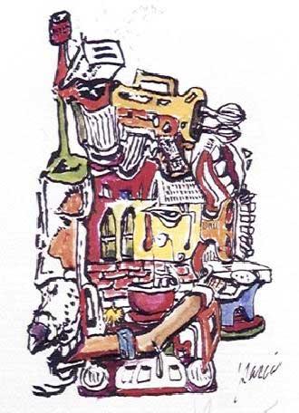 Mixmaster, Jerry Garcia
