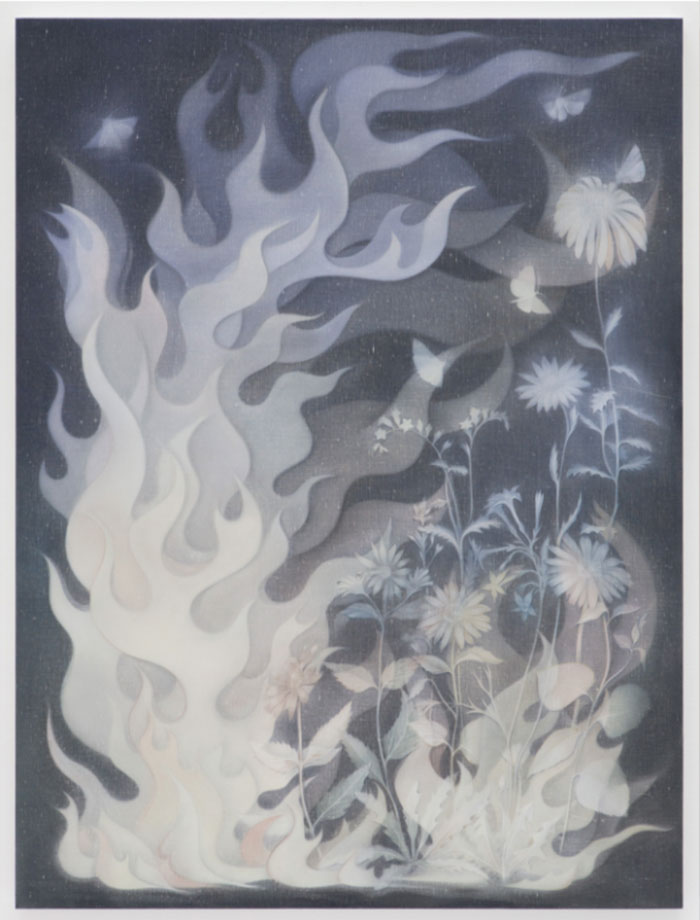 Theodora Allen muted paintings