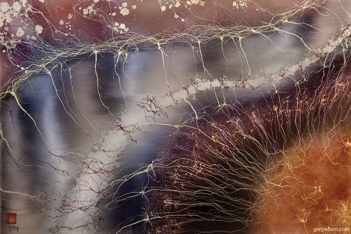 Gregg A. Dunn - Hippocampal Formations, brain image