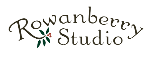 rowanberry studio full color logo
