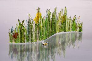 Dew Spangled Meadow, Linda Oeffling